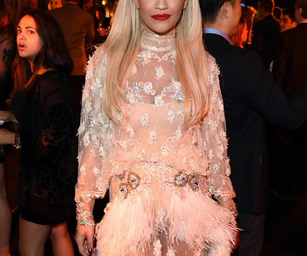 Rita Ora: Rund um die Uhr online?
