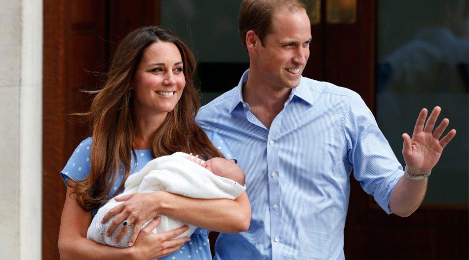 Das britische Königshaus hat den Namen des Royal Baby bekanntgegeben.