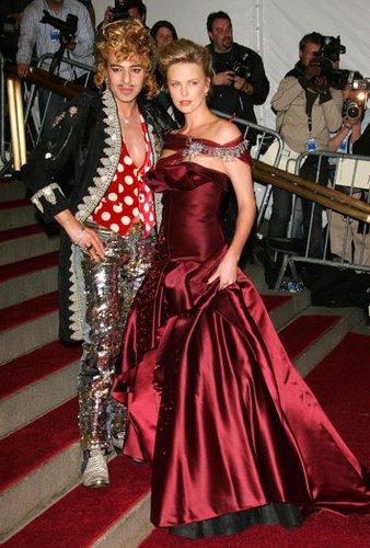 Die modebewusste Schauspielerin Charlize Theron