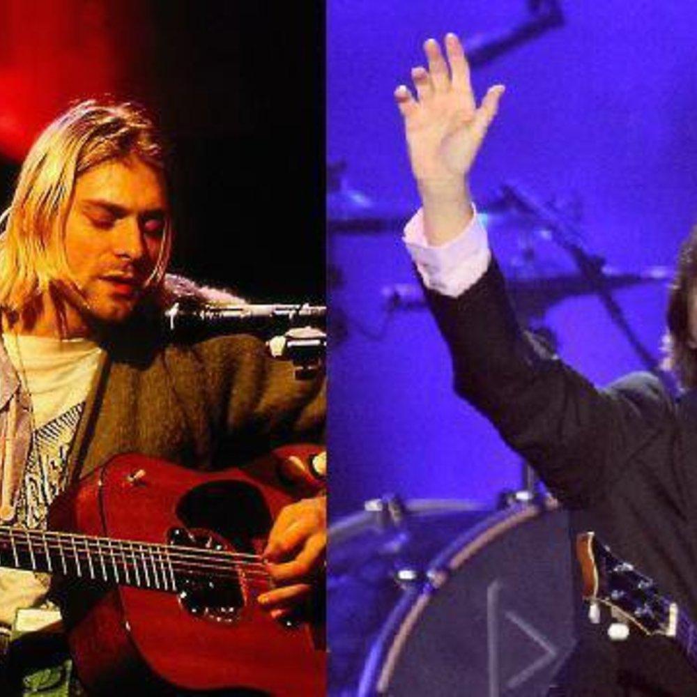 Paul McCartney ersetzt Kurt Cobain!