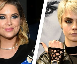 Ashley Benson: PLL-Star knutscht mit Cara Delevingne