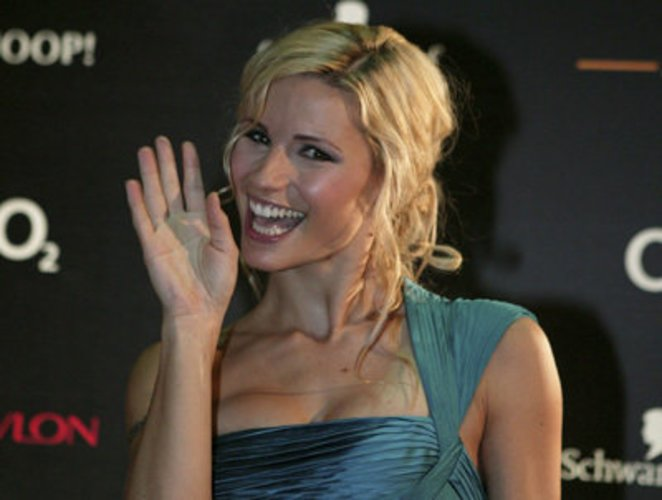 Moderatorin Michelle Hunziker auf der Bambi-Verleihung