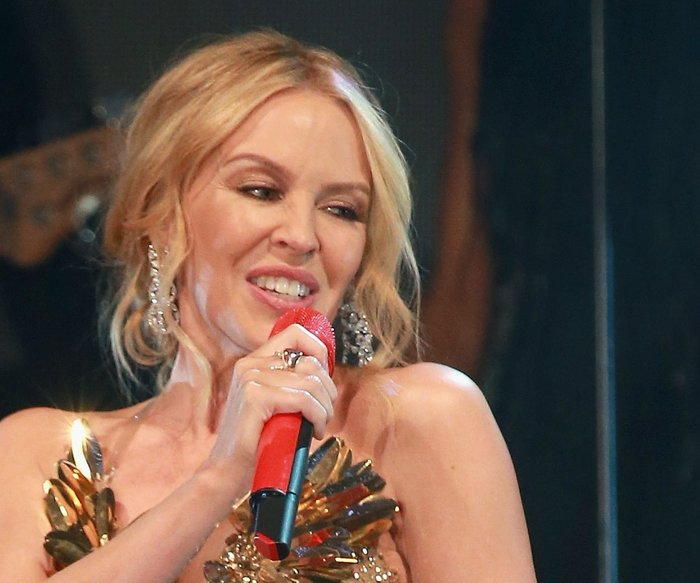LONDON, ENGLAND - FEBRUARY 04: Kylie Minogue performs at the Prince's Trust Invest in Futures Gala Dinner at The Old Billingsgate on February 4, 2016 in London, England. The dinner saw the financial community come together to raise vital funds for the youth charity which helps disadvantaged children turn their lives around. (Photo by Chris Jackson/Getty Images)