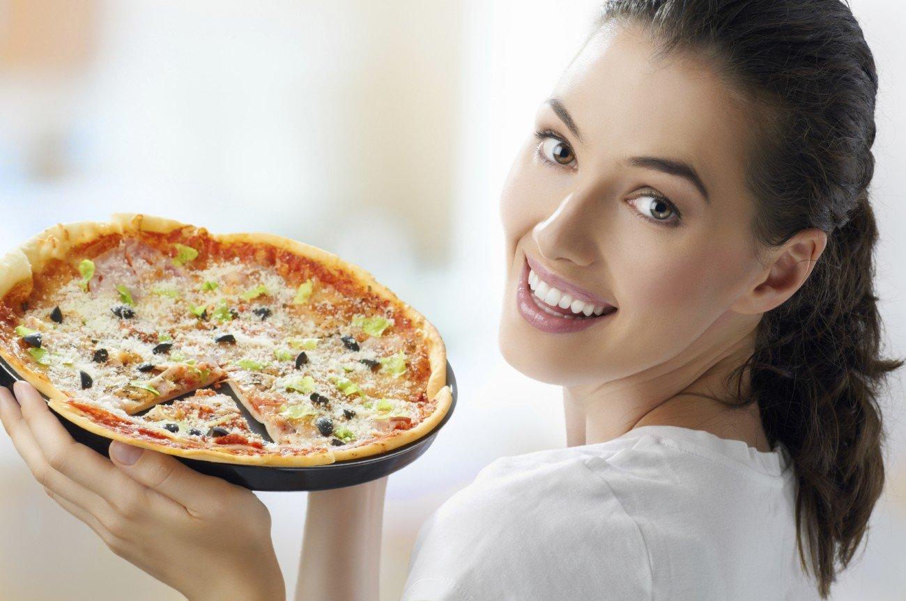 Leider passt Pizza nicht in das High Carb-Prinzip