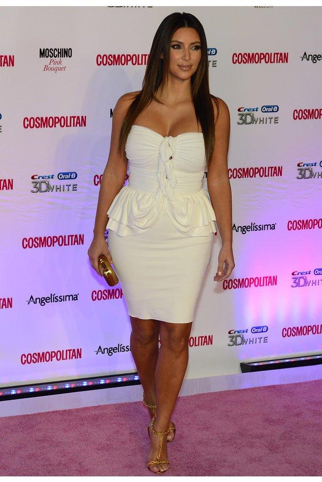 Kim Kardashian auf dem roten Teppich