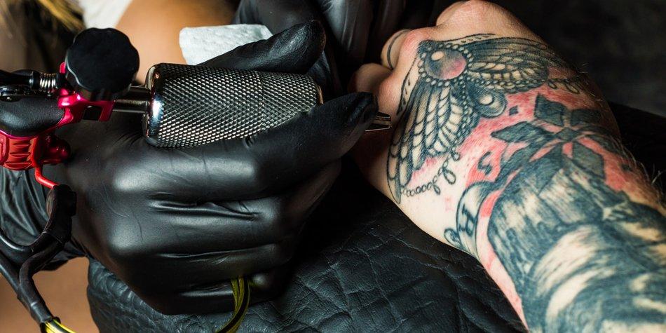 Ehering-Tattoo