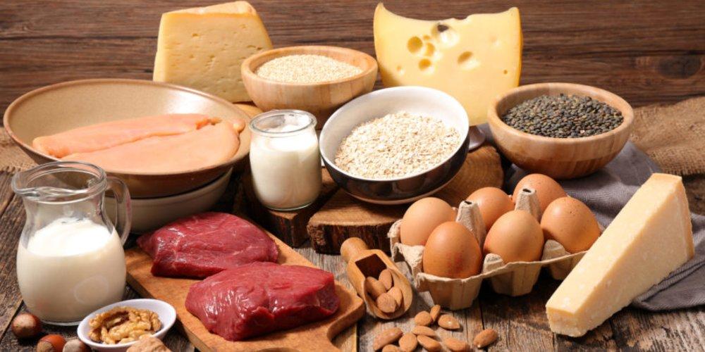 Lebensmittel mit Protein