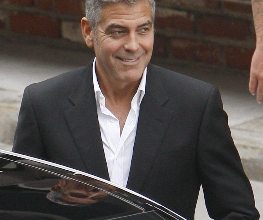 George Clooney als Ehemann