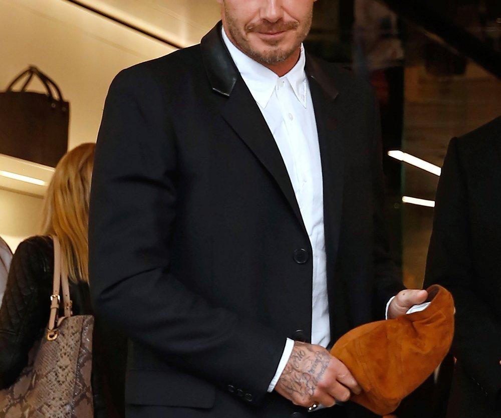 David Beckham frisch verliebt