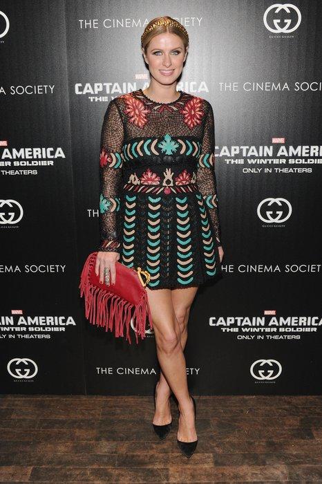 Nicky Hilton in New York