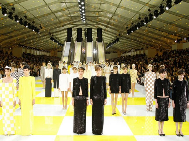 Sixties Shapes bei Louis Vuitton S/S 2013