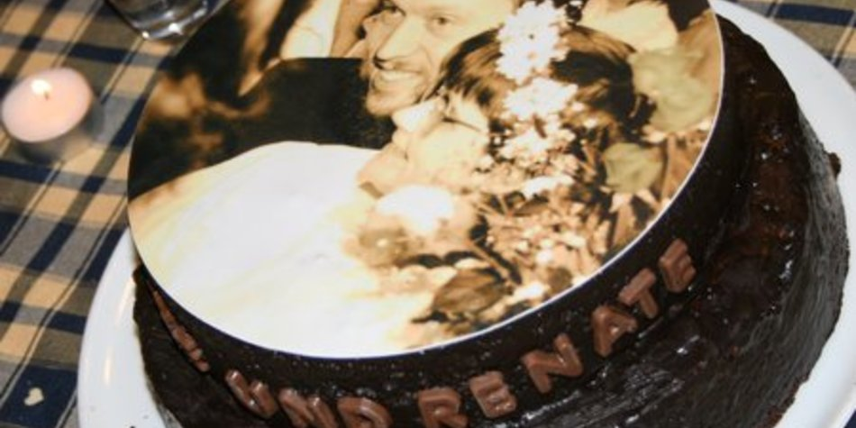 Schoko-Vanille-Kuchen zweischichtig