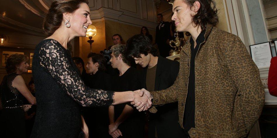 Harry Styles gratuliert Kate Middleton zur Schwangerschaft