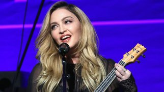 BEVERLY HILLS, CA - JANUARY 09: Madonna performs at the 5th Annual Sean Penn & Friends HELP HAITI HOME Gala Benefiting J/P Haitian Relief Organization at Montage Hotel on January 9, 2016 in Beverly Hills, California. (Photo by Jonathan Leibson/Getty Images for J/P HRO)