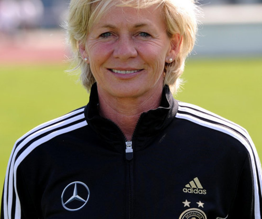 Nationaltrainerin Silvia Neid