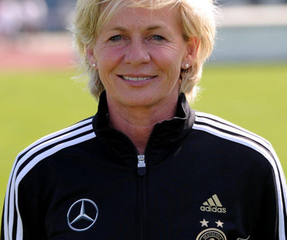 Nationaltrainerin Silvia Neid