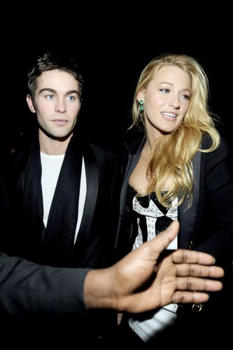 Blake Lively und Chace Crawford.
