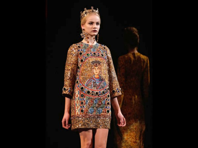 Dolce & Gabbana Model