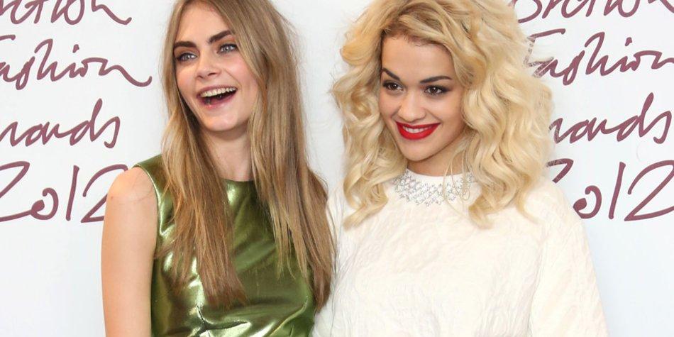 Cara Delevingne und Rita Ora