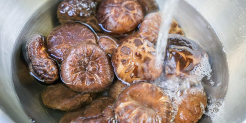 Shiitake Pilze zubereiten