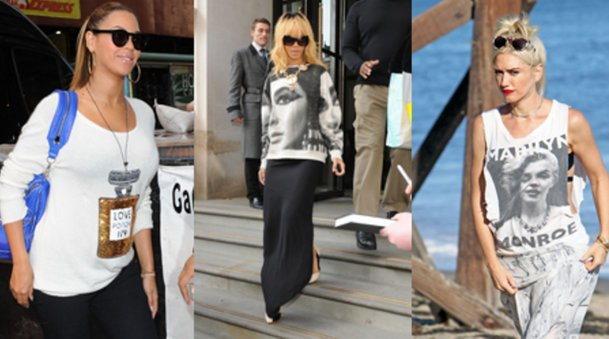Beyoncé Knowles, Rihanna und Gwen Stefani