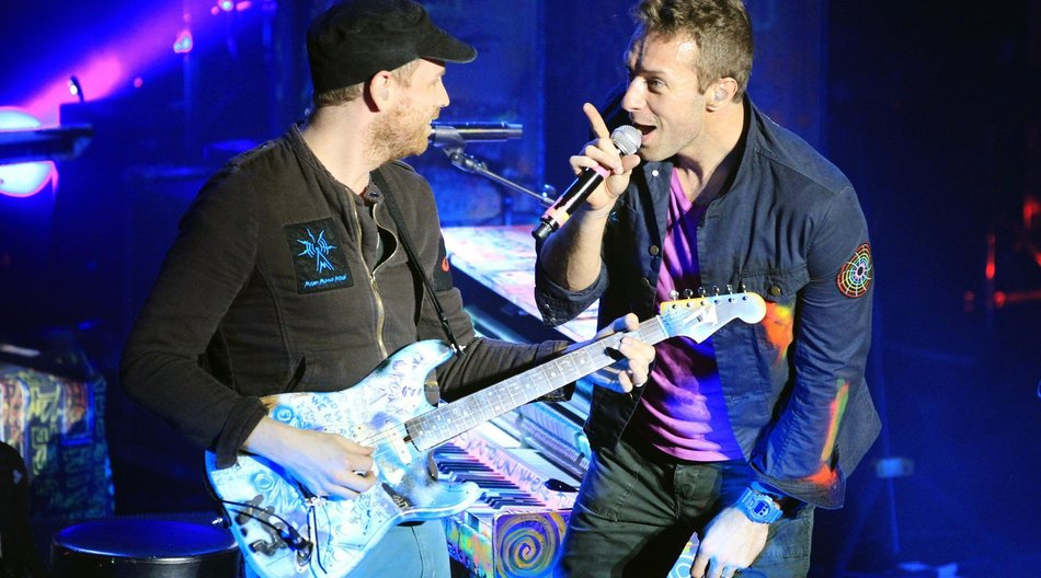 Coldplay feiern Silvester in Abu Dhabi