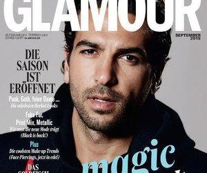 """Elyas M'Barek ist der erste Mann auf der """"Glamour"""""""