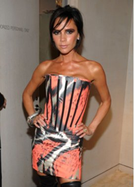 Victoria Beckham auf der Fashion Week