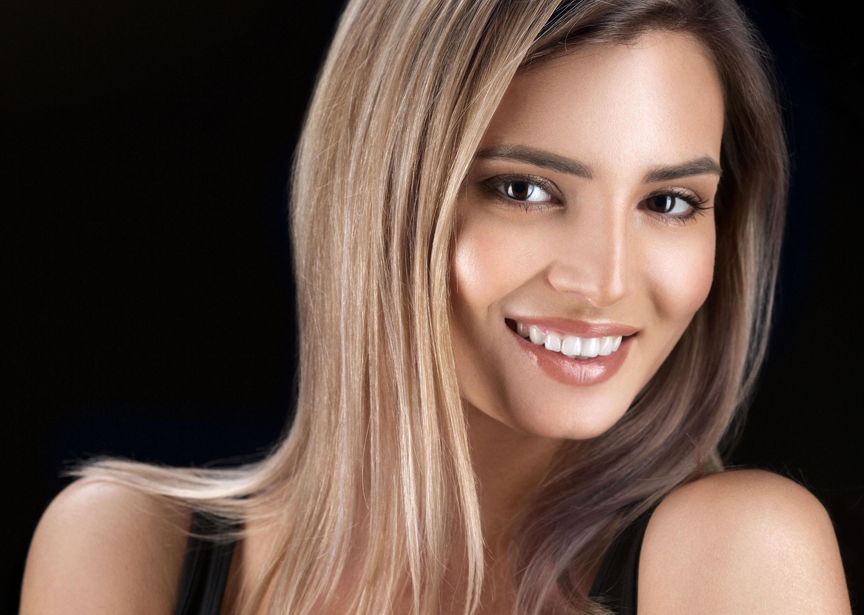 Blondierte haare dunkler farben ohne grunstich