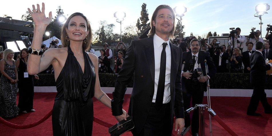 Brad Pitt: Angst um Angelina Jolie