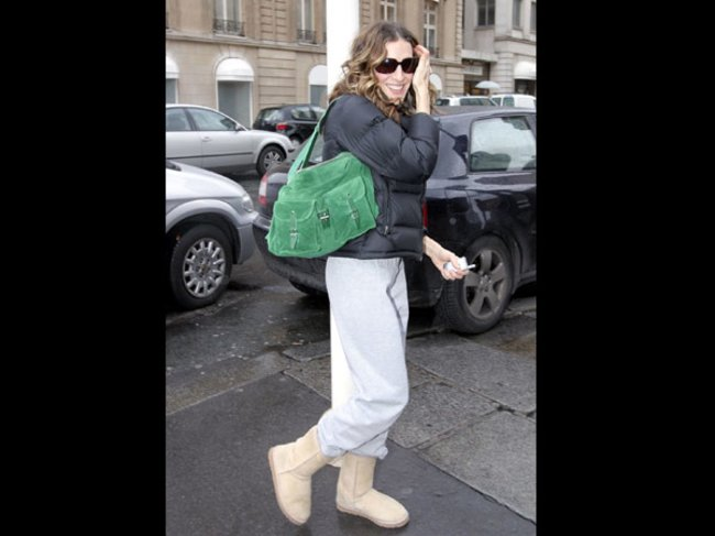 Sarah Jessica Parker in UGG Boots