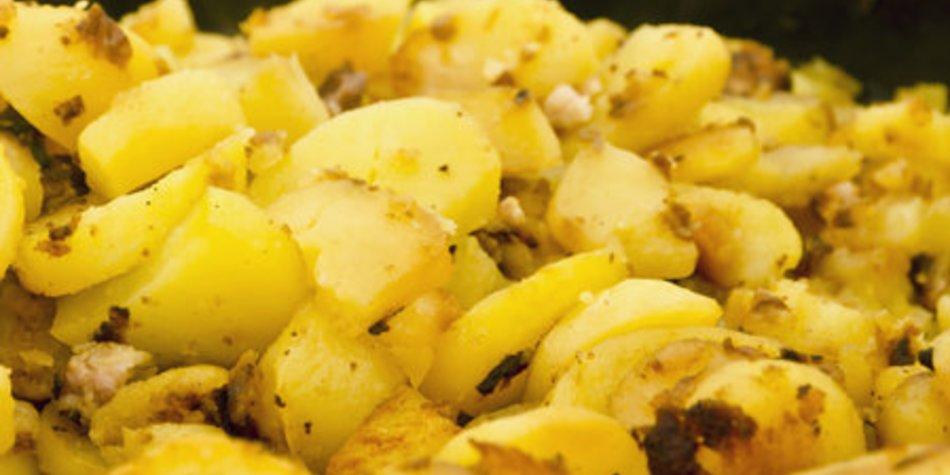 Bratkartoffeln ohne vorkochen