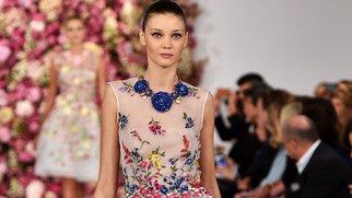 New York Fashion Week: Oscar de la Renta verwandelt Frauen in Feen