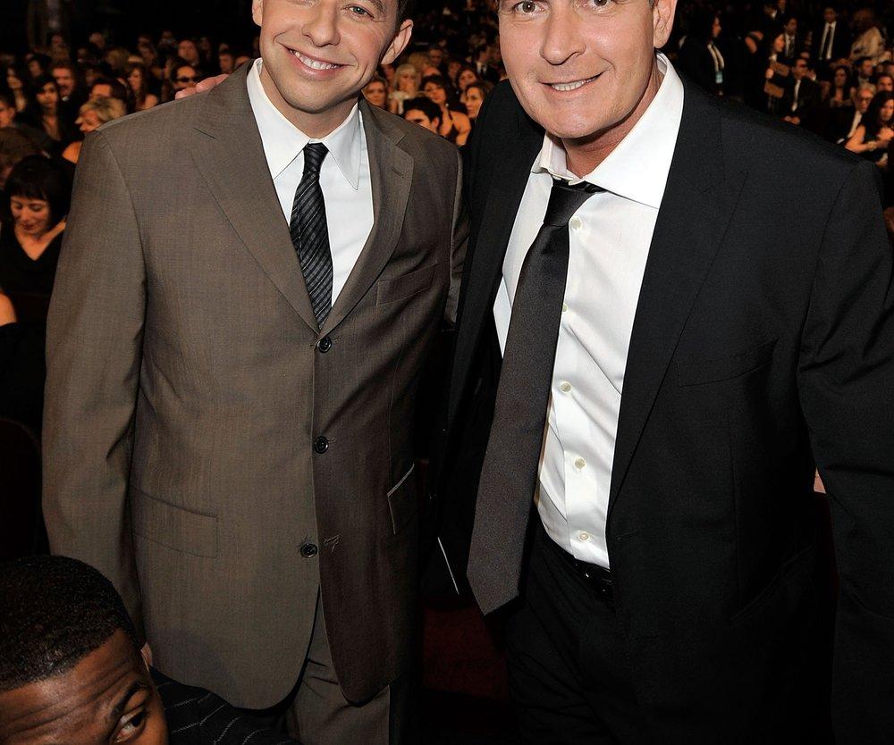 Charlie Sheen: Jon Cryer macht sich Sorgen
