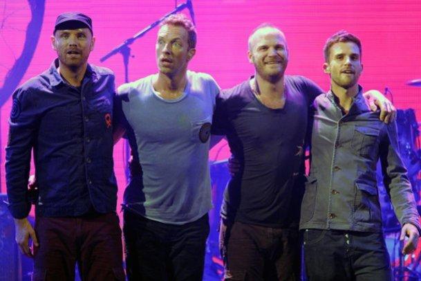 Coldplay laden zum Drink.