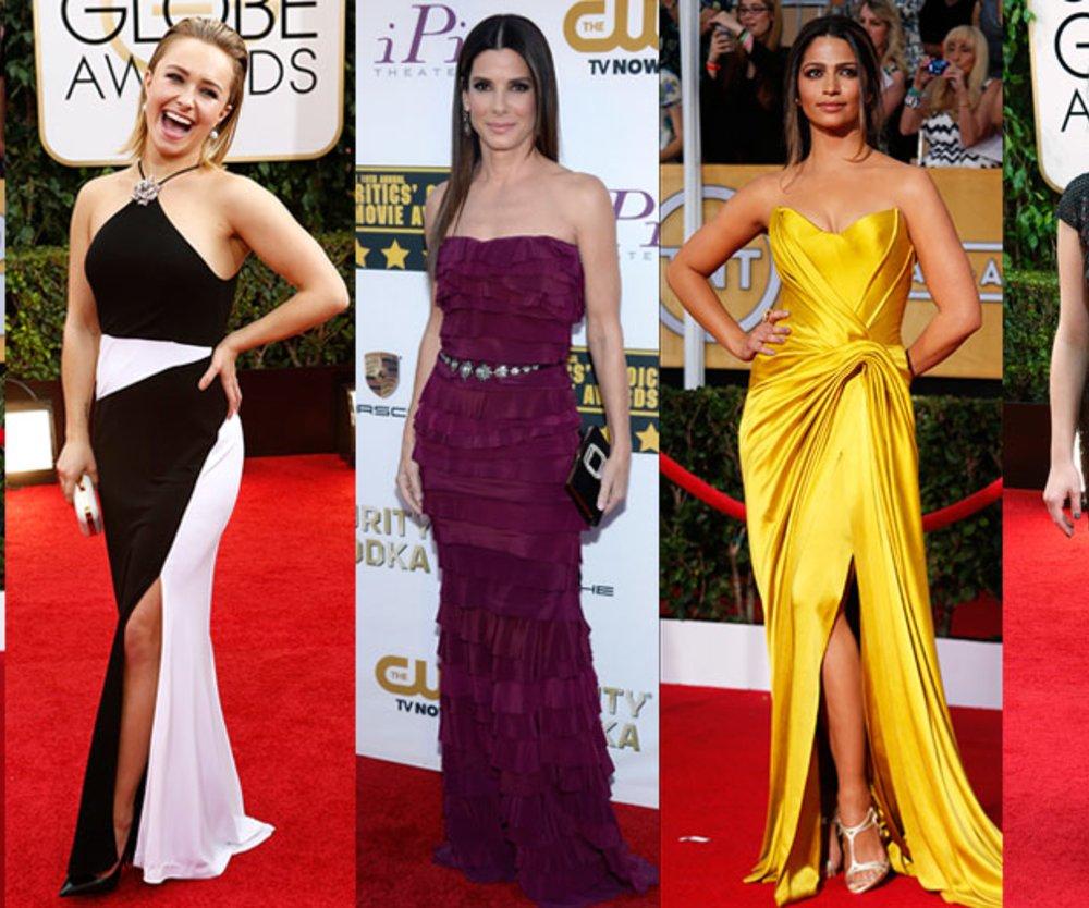 Claire Danes, Hayden Panettiere, Sandra Bullock, Camila Alves, Elisabeth Moss