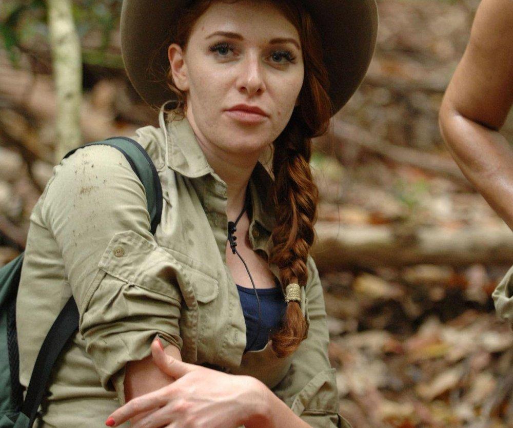 Dschungelcamp: Georgina Fleur hält nichts von Arbeit