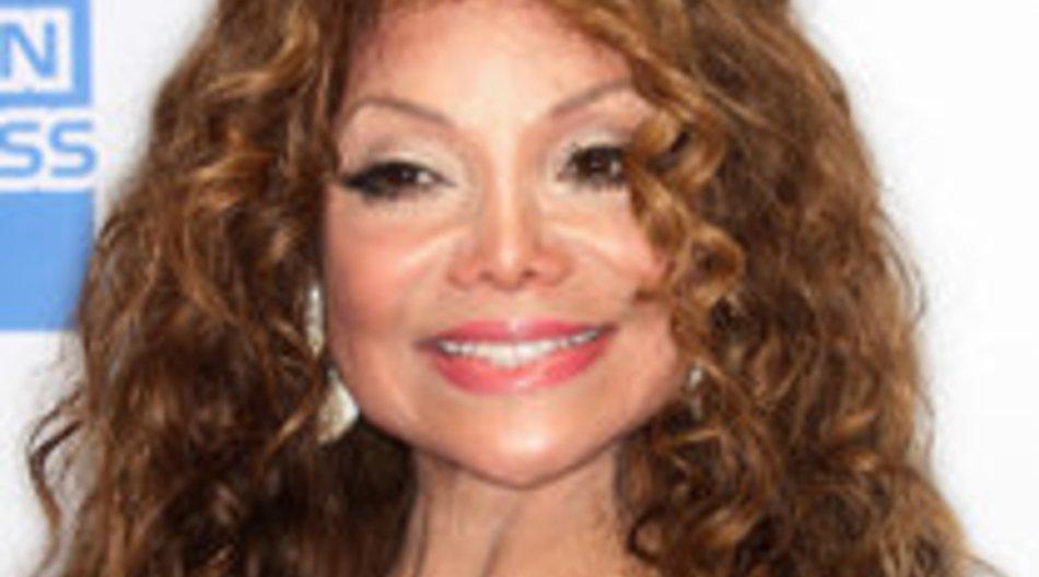 La Toya Jackson vergnügt sich in Köln