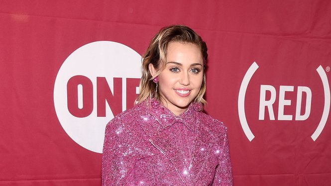 NEW YORK, NY - DECEMBER 01:  Miley Cyrus attends the ONE Campaign and (RED)'s concert to mark World AIDS Day, celebrate the incredible progress that's been made in the fights against extreme poverty and HIV/AIDS, and to honor the extraordinary leaders, dedicated activists, and passionate partners who have made that progress possible. At Carnegie Hall on December 1, 2015 in New York City.  (Photo by Dave Kotinsky/Getty Images for The ONE Campaign)