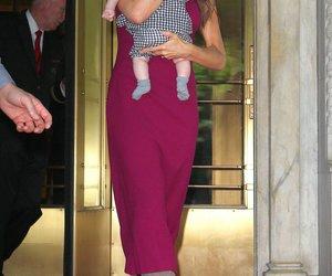 Victoria Beckham mit Tochter in NY