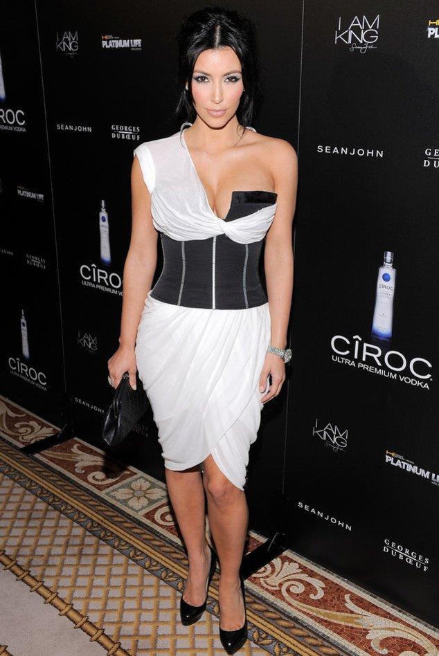 Kim Kardashian: Ein Traum in schwarz-weiß