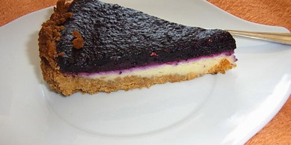 Brombeer Ricotta Torte