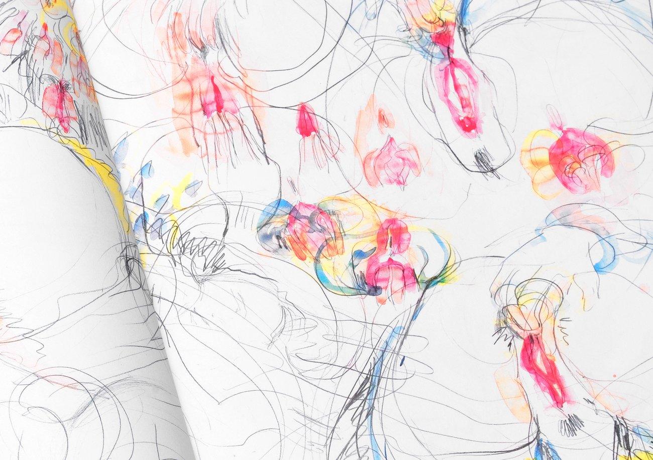 weibliche masturbation zeichnung