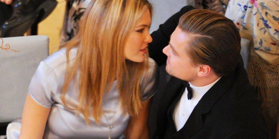 Leonardo DiCaprio mit einer seiner Ex-Freundinnen, dem Topmodel Bar Refaeli