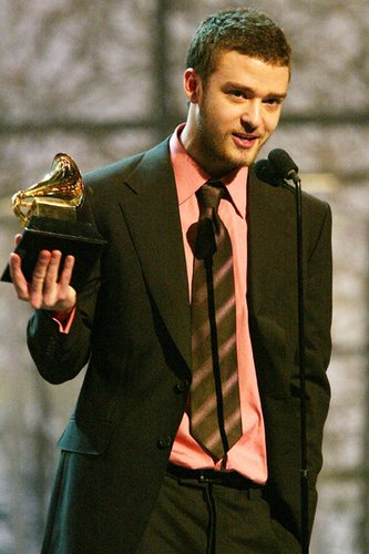 Justin Timberlake - Stolzer Gewinner des Grammy Awards