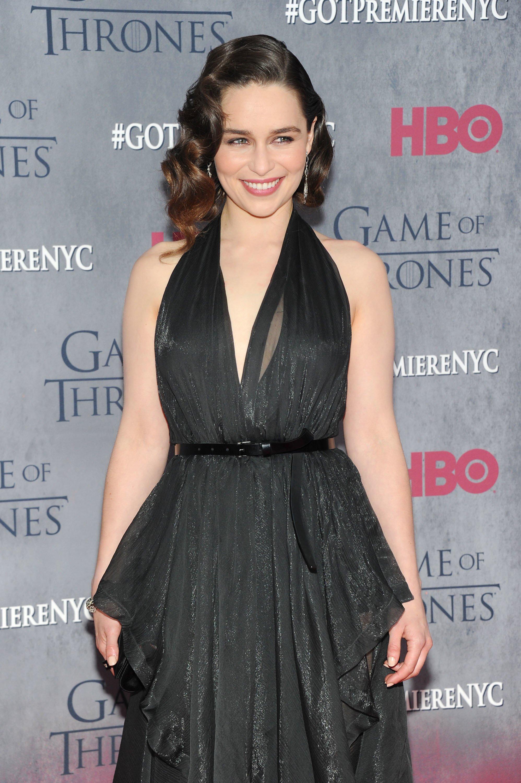 Emilia Clarke auf dem roten Teppich