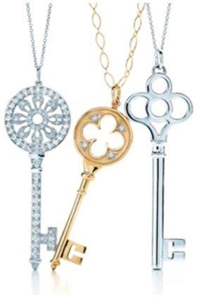 Der neue Key Look von Tiffany und Co ist der neue Schmucktrend.