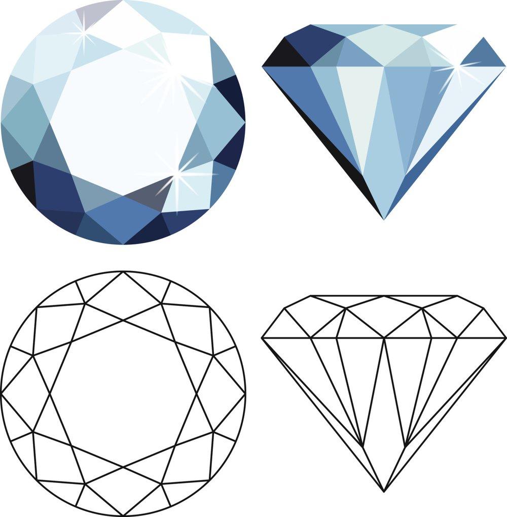 schne diamant tattoo designs und bedeutungen bedeutungen. Black Bedroom Furniture Sets. Home Design Ideas