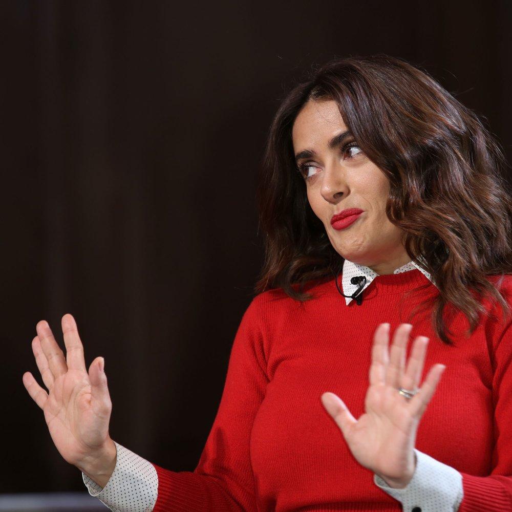 Salma Hayek ist neu bei Facebook