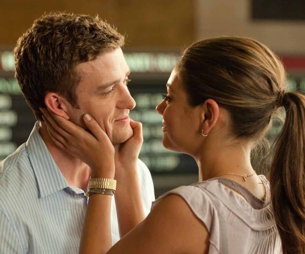 Justin Timberlake und Mila Kunis